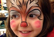 arcfestés karácsony