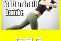 Categoria GAG / In un unica sessione di allenamento ci concentreremo su gambe, addominali e glutei