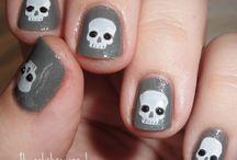 Halloween Nail Designs / Halloween Nail Designs at Faith Spa and Faith Nails http://FaithSpaandNails.com
