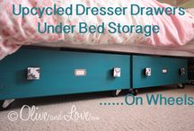 Repurpose - Drawers / by Kimberly Sutor