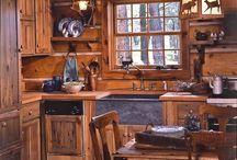 cabin ideas / by Becky Mayfield