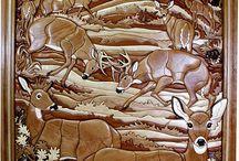 интарсия - мозаика из дерева