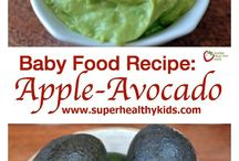Baby food / Weaning and toddler snacks and meals