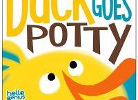 Potty Training Books / Potty training can be tough (and messy)! These books may help inspire your little ones.
