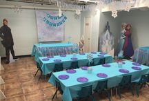 Frozen Party Room at Palm Tree Playground / Palm Tree Playground's Frozen Party Room