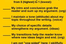 6.W.1Write arguments to support claims with clear reasons and relevant evidence. / by Danielle Tebon