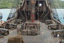 Pirate ship deck