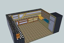 design interior / kitchen set design interior,make from sketch up 8