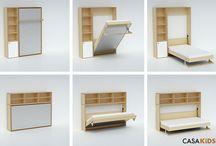 Beds / Murphy bed
