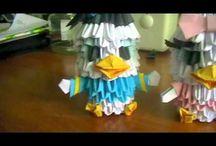 3D origami / by Fiona Algera
