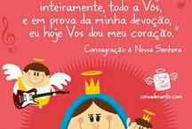 Orações e Santos