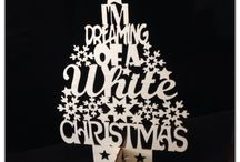 Laser Cut Christmas Goodness! / Beautiful laser cut Christmas items, all available from Spencer Brookes Designs