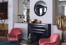 interior design / fireplace