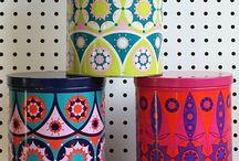 älska färg och mönster
