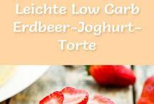 LowCarb Kuchen Erdbeer
