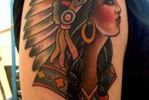 tatoo and henna / div. tatooveringer og hennna.