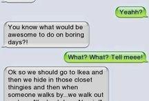 funny text messages:D / by Emma Kremser #WeLoveYouZayn