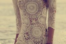crochet long top