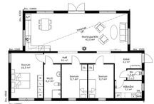 Planlösning hus