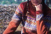 Mijn Noorse trui.... wens in uitvoering. / Al heel lang wilde ik een Noorse trui hebben, liefst zelf gebreid. Maar wegens chronische blessures zat dat laatste er niet in....dacht ik.  Maar toch....