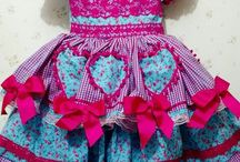 vestido festa junina