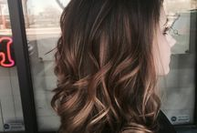 Couleur cheveux tie and dye