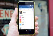 À la une, Windows 10, Windows 10 Mobile, Application, Facebook, Lumia, Microsoft, Mise à jour, officielle