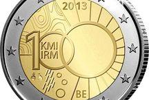 Monedas 2 euros Belgica