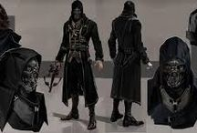 SpringHeeledJack / Dark, Batman like Character