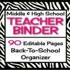 Teacher organisation