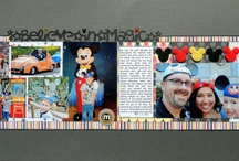 Disney scrap layouts