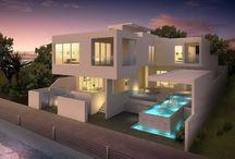 3D Exterior - Exterior Premium Homes / Veetildigital offering services like architectural 3D Exterior Design, 3D Exterior Design, 3D Exterior rendering view, 3D Exterior Rendering...