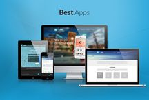 BestApps Webdesign / This is the design we made for BestApps - mobile application solution and development .