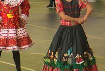 vestido infantil - festa junina