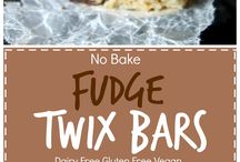 Desserts to try: Vegan and food allergy friendly / Sweets without eggs dairy & possible to make without nuts tree nuts seeds soy dyes preservatives