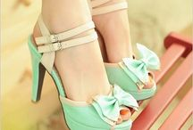 The Cinderella Board / Shoes, shoes, shoes! / by Tahauny Cleghorn
