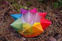 Paper Crafts / Paper crafts - kite paper, origami, paper lanterns, etc. / by Maureen Sklaroff @ Blue Bells and Cockle Shells