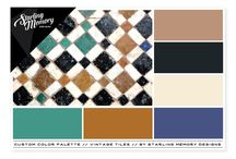 STARLING MEMORY // COLOR PALETTES