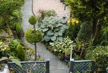 Long narrow garden designs