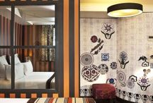 Hotel Design Using Wallpaper / We show you these chic European hotels using wallpaper to create great decorating schemes. http://www.wowwallpaperhanging.com.au/hotel-design-using-wallpaper/