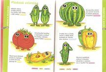 ŠVP 1. p. - Ovoce a zelenina, to je zdraví, to je síla.