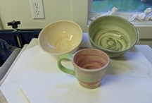 My pottery, The Wee Pottage / A small unique, boutique pottery. / by Wee Pottage, Whimsical Totems, Art And Functional Pottery