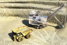 3D Renderings of the Mining Equipment and Heavy Machineries / 3D Renderings of the Mining Equipment and Heavy Machineries