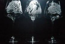 grawerowane szkło