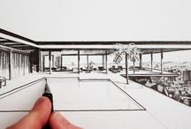 22 case study house dessin