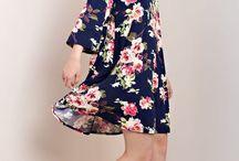 Floral Buzz Cold Shoulder Dress