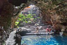 Jamios de agua Lanzarote