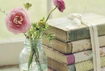 Shelves, books...