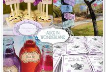 Alice in Wonderland Birthday Party / Alice in wonderland birthday party ideas