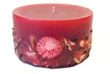 Red wine handmade candles - Κόκκινα χειροποίητα κεριά / Κατα κόκκινα χειροποίητα κεριά στο χρώμα του κόκκινου κρασιού. Έχουν άρωμα φράουλας.  Red wine handmade scented candles with strawberry flavor.
